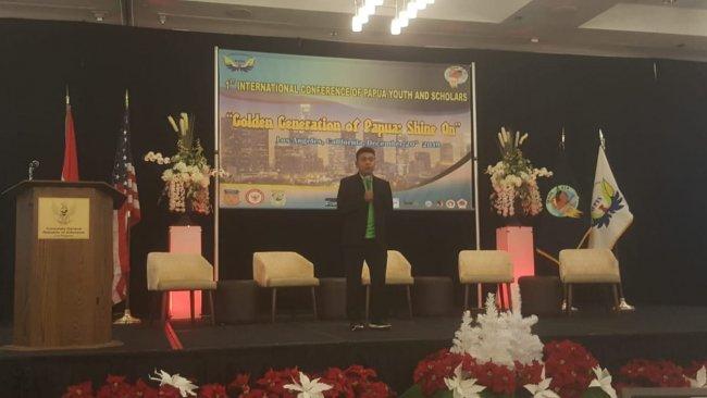 Staff Khusus Presiden RI Billy Mambrasar Mendorong Ratusan Mahasiswa Papua  di AS  Jadi Entreprenuer Milenial