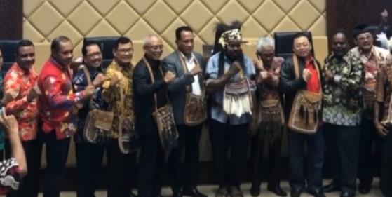 Tim Pemekaran Provinsi Papua Selatan Bertemu dengan Komisi II DPR RI