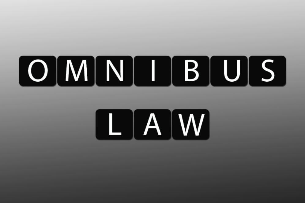 Mendukung Lahirnya UU Omnibus Law