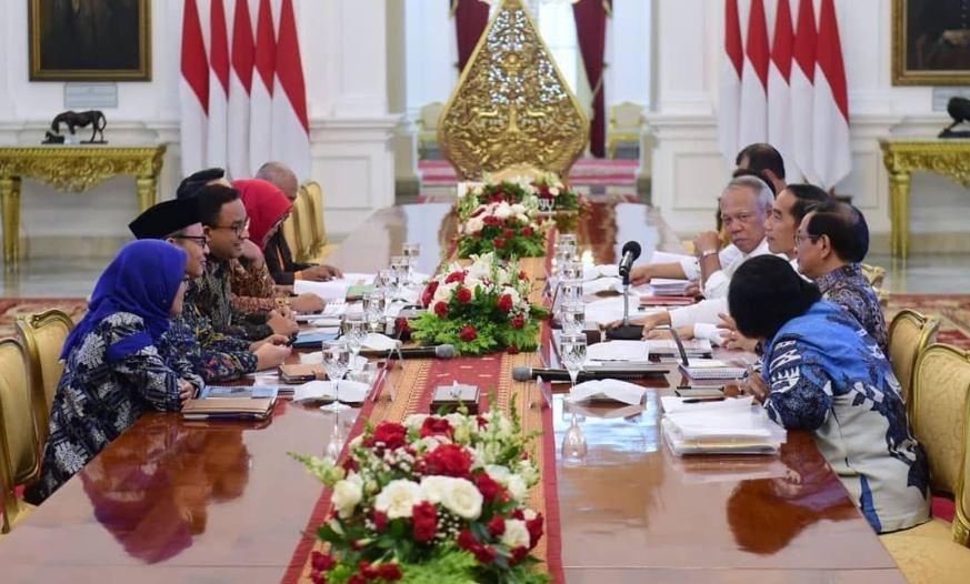Jokowi Minta Seluruh Pihak Bersinergi Selesaikan Masalah Banjir