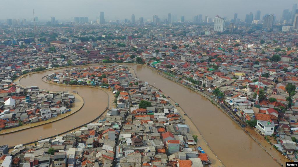 Jokowi Imbau Semua Kementerian Bantu Atasi Banjir