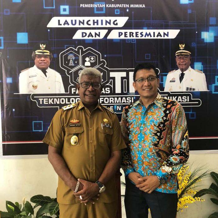 Kerja Sama Pemkab Mimika dan Lintasarta, Bangun Command Center Pertama di Papua