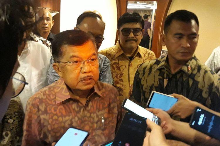 Jusuf Kalla: Natuna Bagian dari Indonesia, Harus Dipertahankan
