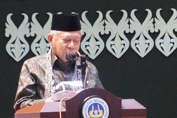 Ma'ruf Amin: Saya Ditugaskan Presiden Galang Upaya Tangkal Radikalisme
