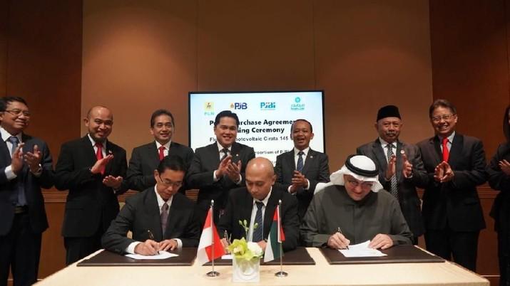 Senilai Rp 1,8 T, PLN & Masdar Akan Bangun PLTS 132,5 MW