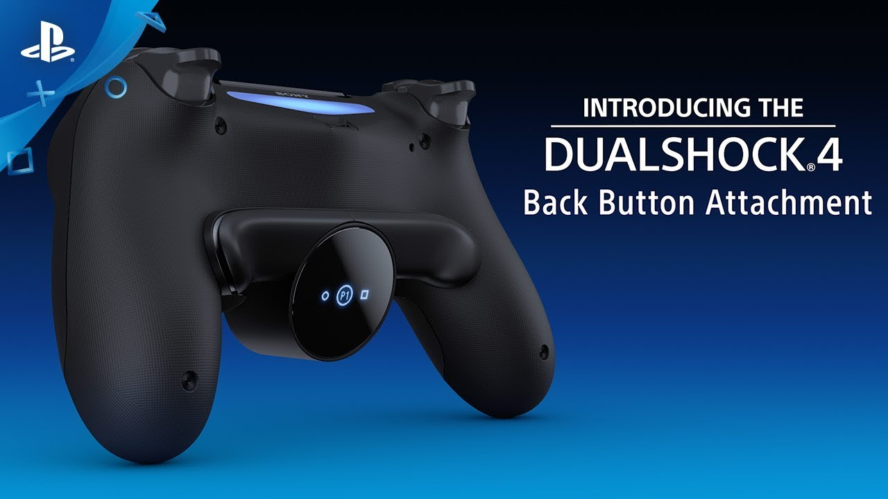 DUALSHOCK 4 Back Button Attachment Aksesoris Baru Dari Sony