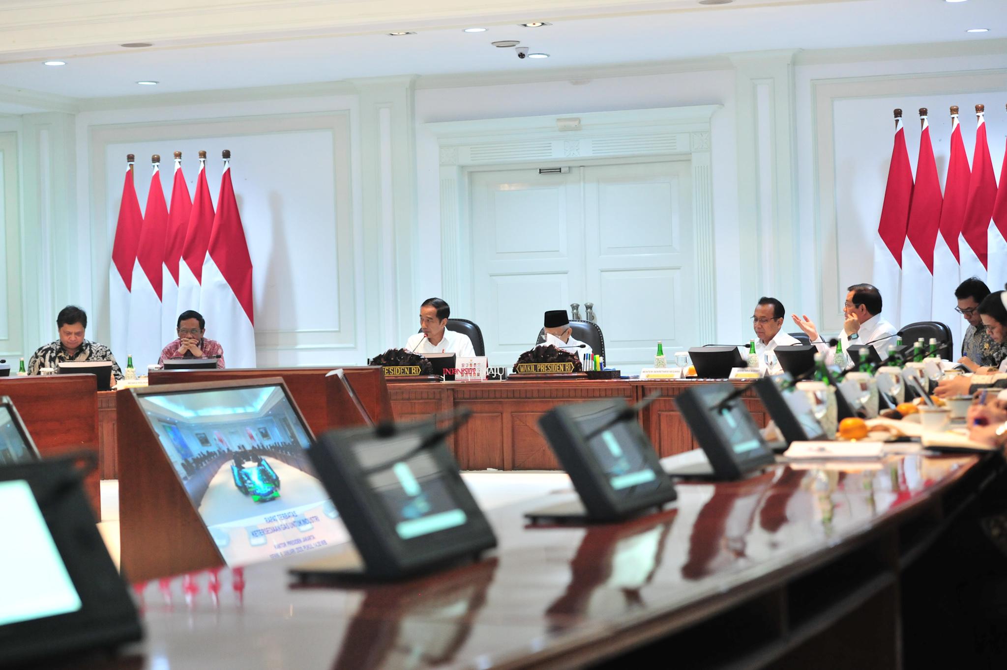 Sampaikan Tiga Skenario, Presiden Jokowi Minta Harga Gas Dikalkulasi Agar Lebih Kompetitif