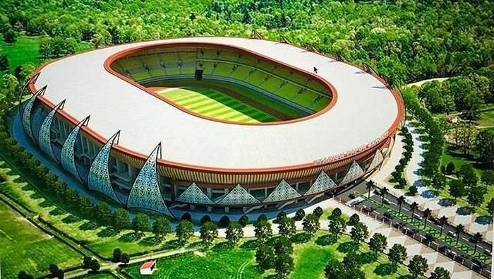 Stadion Kaltapal Hampir Rampung, Gunakan Rumput Kelas Internasional