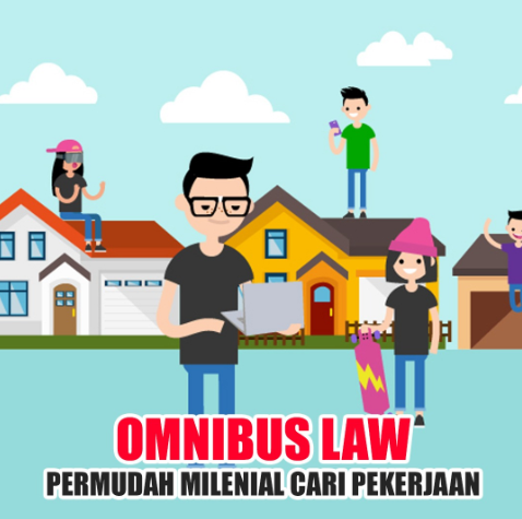 Kalangan Pekerja Bersama Warganet Milenia Dukung Kebijakan Omnibus Law