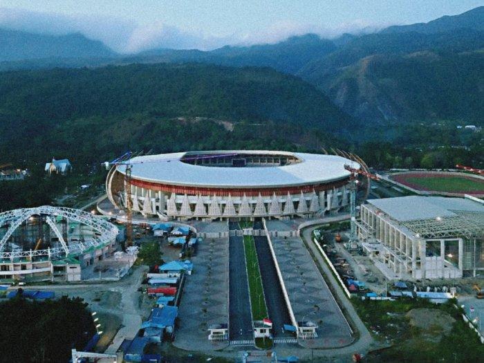 Venue Olahraga untuk PON XX Papua Dipastikan Selesai Tepat Waktu