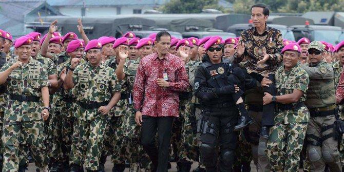Jokowi Janji Tingkatkan Kesejahteraan Prajurit