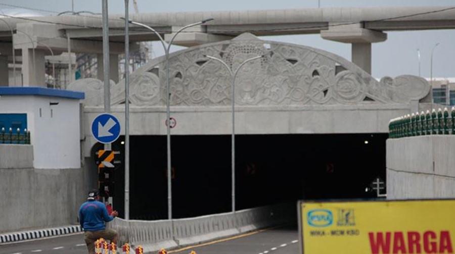 Diresmikan Jokowi, Underpass Yogyakarta Terowongan Terpanjang Di Indonesia