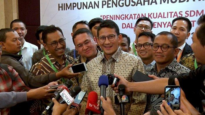 Dongkrak Perekonomian, Sandi Dukung Pemerintah Terbitkan UU Omnibus Law