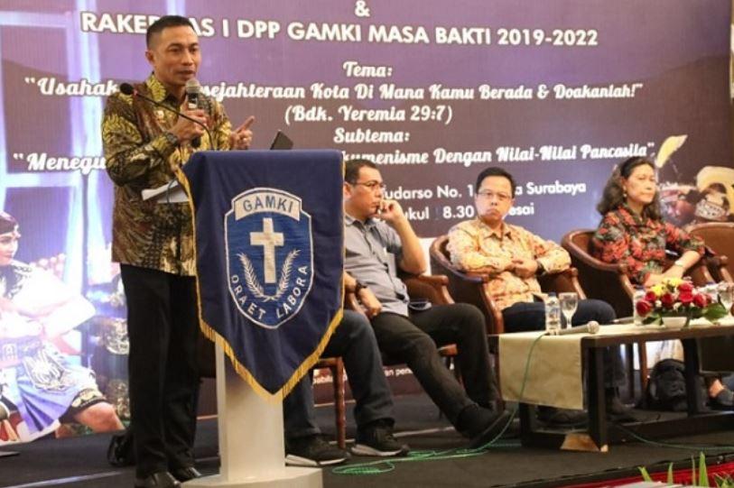 Wakil Kepala BSSN: Milenial Harus Amalkan Nilai Pancasila