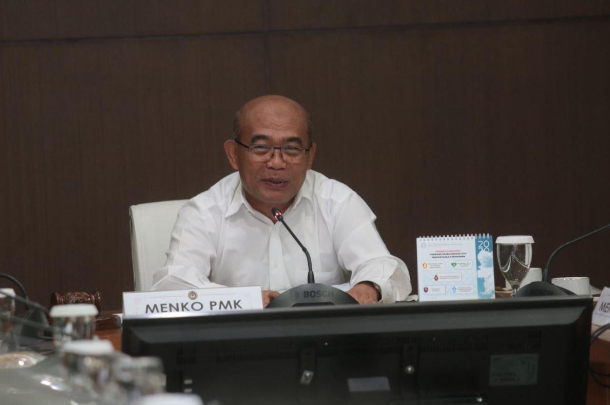Menko PMK: Pemerintah Terus Mewaspadai Virus Corona
