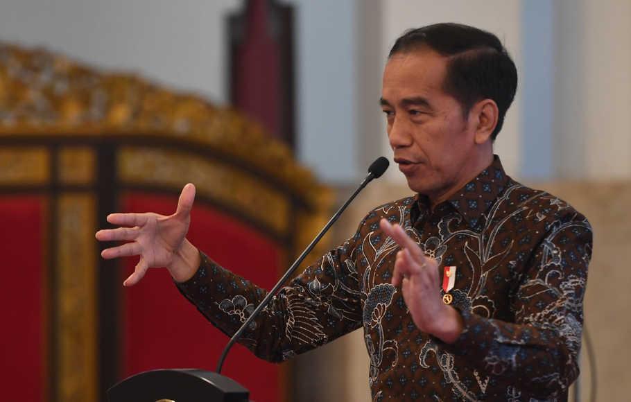 Jokowi Yakin Omnibus Law Bisa Percepat Membuat Kebijakan