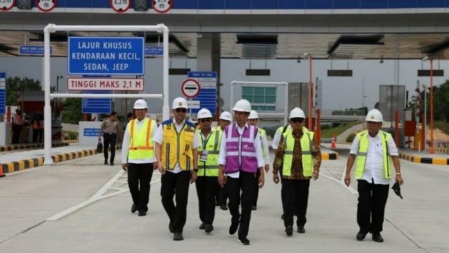 Pembangunan Dikebut, Presiden Jokowi Inginkan Tol Pekanbaru – Dumai Rampung April 2020