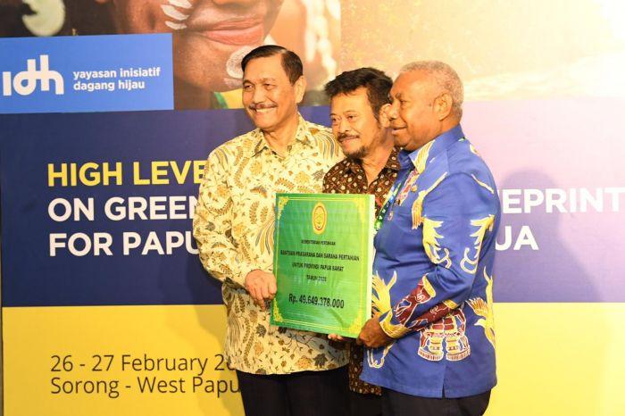 Mentan Syahrul Dorong Investasi Berkelanjutan di Sektor Pertanian