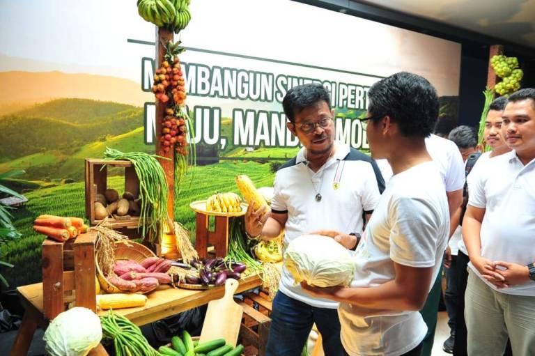 Pencapaian Kementerian Pertanian di 100 Hari Kerja Kabinet Indonesia Maju