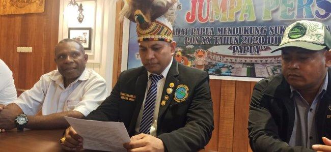 Pemuda Adat Papua Dukung Sukses Penyelenggaran PON XX