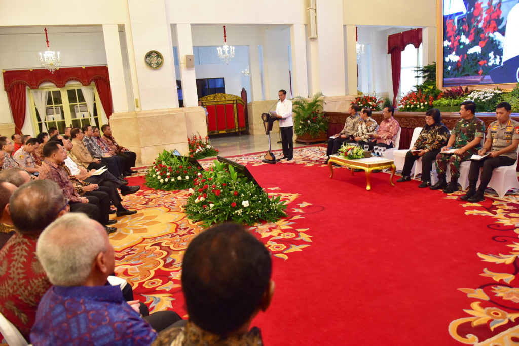 Presiden Jokowi Apresiasi Kerja Keras Semua Pihak Tangani Kebakaran Hutan dan Lahan