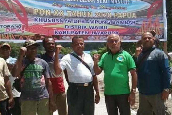 Keluarga besar Suku Manuri siap sukseskan PON di Papua