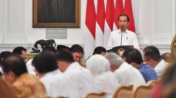 China Sindir Soal Corona, Jokowi: Kepentingan RI Nomor Satu!