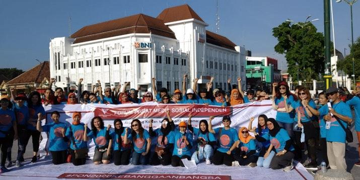 Sinergitas FPMSI dan Pegiat Media Sosial Jogja Sukseskan PON XX Papua