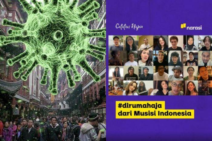Berbeda Dengan Negara Lain, Begini Cara Indonesia Gotong Royong Tangani Virus Corona, dari Pemerintah, Tim Medis, TNI-Polri Hingga Artis dan Konglomerat Saling Bantu