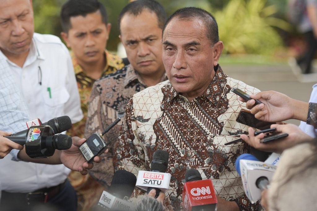 Bertemu Presiden, Gubernur Sumatra Utara Laporkan Kesiapan Jadi Tuan Rumah PON 2024