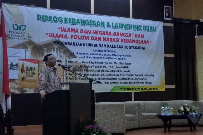 Mahfud MD: Indonesia Nol Kasus Covid-19, Jangan Mudah Percaya Hoaks