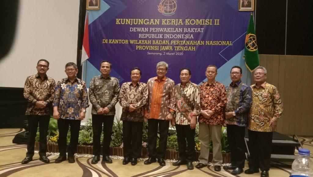 Kunker di Jateng, Komisi II DPR RI Pantau Capaian Target Program PTSL