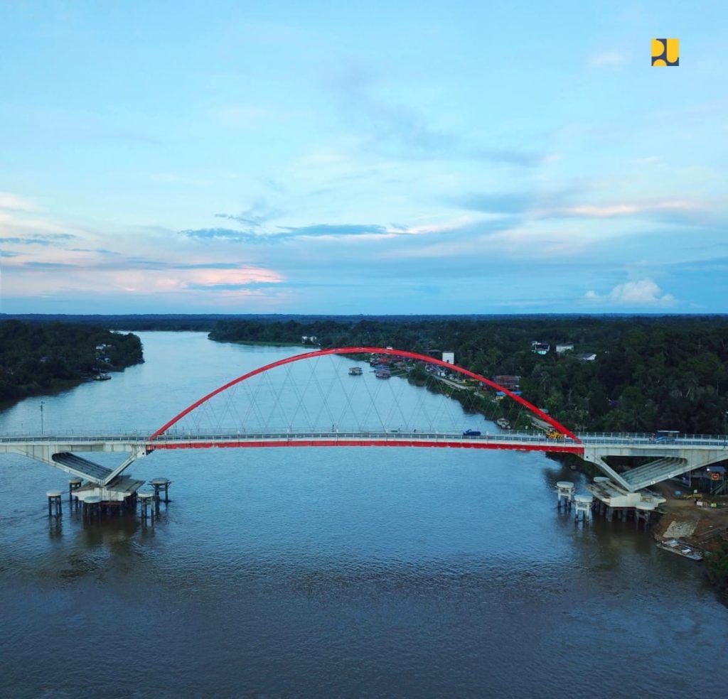 Progres 99%, Jembatan Tumbang Samba Kalteng Akan Tingkatkan Perekonomian Masyarakat