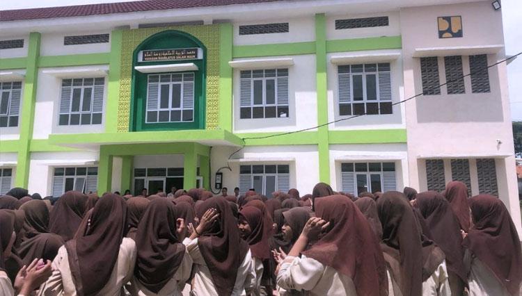 Kementerian PUPR RI Selesaikan Pembangunan Rusunawa Mini di Ponpes Raudlatussalam