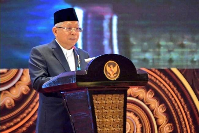 Lewat Omnibus Law, Ma'ruf Amin Berharap Ekonomi Indonesia Makin Maju