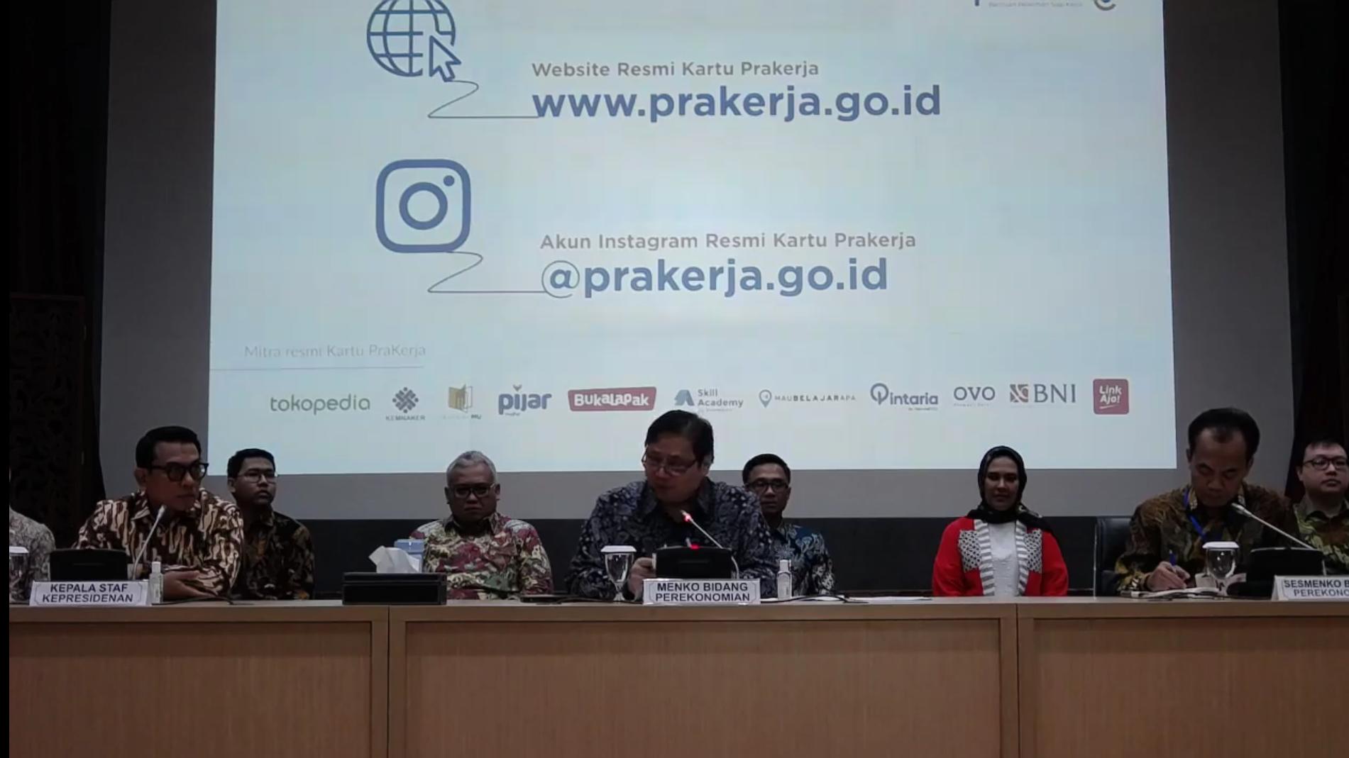 Pemerintah Luncurkan Situs Resmi Kartu Prakerja