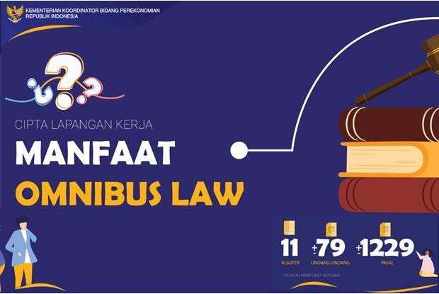 Omnibus Law Dinilai Solusi Perlambatan Ekonomi di Tengah Pandemi Corona