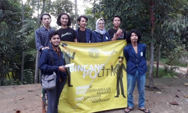 Mahasiswa UIN Bandung Deklarasi Dukung Omnibus Law