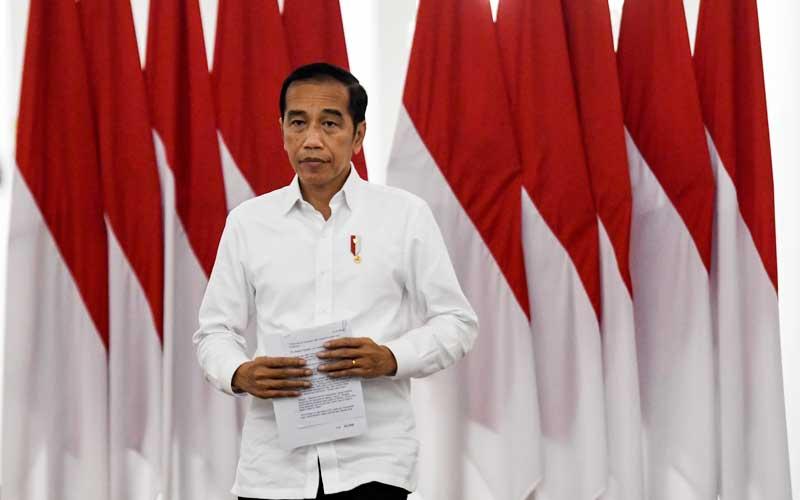 Presiden Jokowi Siapkan Aturan Pelaksanaan Pembatasan Sosial Skala Besar
