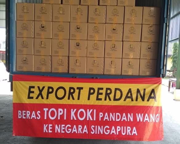 Pandemi Covid-19 tak Halangi Indonesia Ekspor Beras ke Singapura