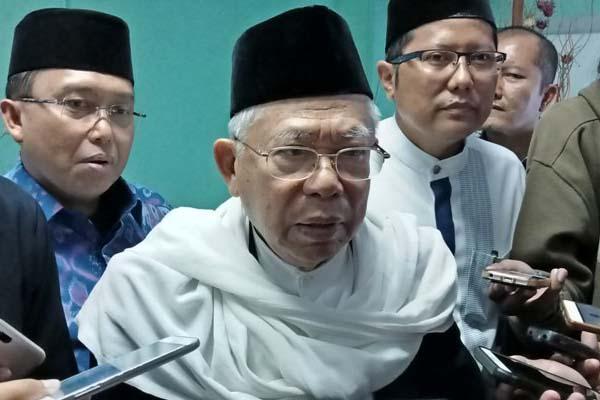 Corona Mewabah di Indonesia, Wapres Ma'ruf Minta Semua Pihak Tak Saling Menyalahkan