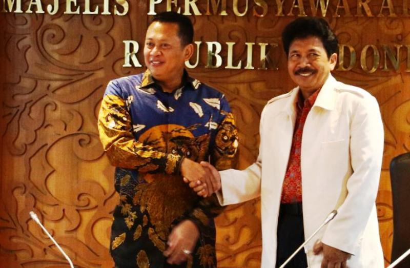 MPR-BPIP Kerjasama Kembalikan Marwah Pancasila
