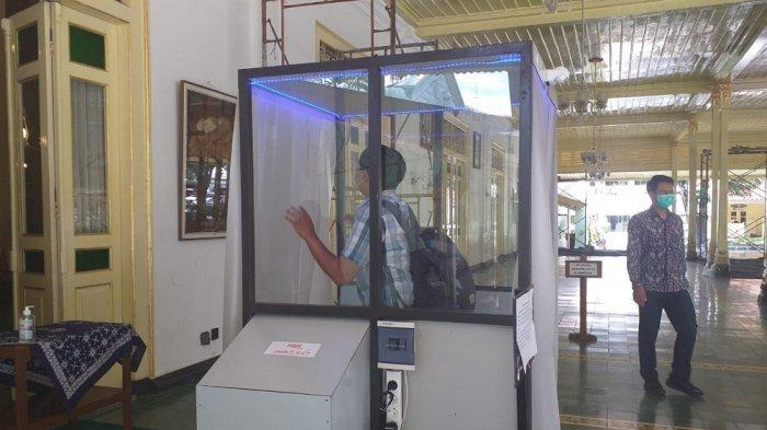 Pemda DIY Produksi Bilik Sterilisasi
