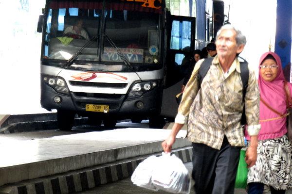 Penumpang Bus yang Datang ke Jogja Bakal Didata