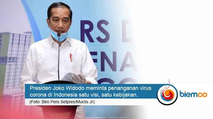 Jokowi Minta Penanganan Virus Corona di Indonesia Satu Visi
