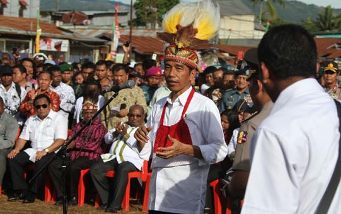 Masyarakat Papua Mendukung PON XX