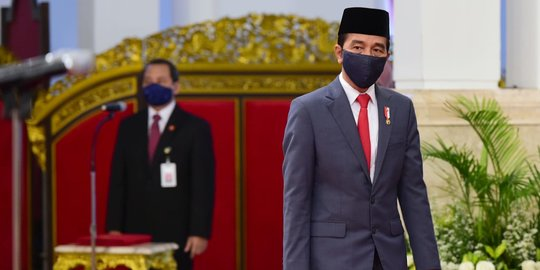 Jokowi: Tidak Mudik, Cara Lindungi Keluarga di Kampung