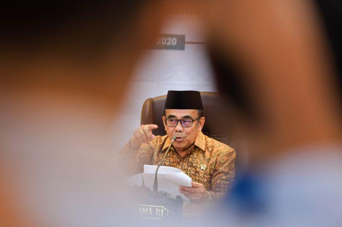 Menteri Agama Minta Masyarakat Salat Id di Rumah