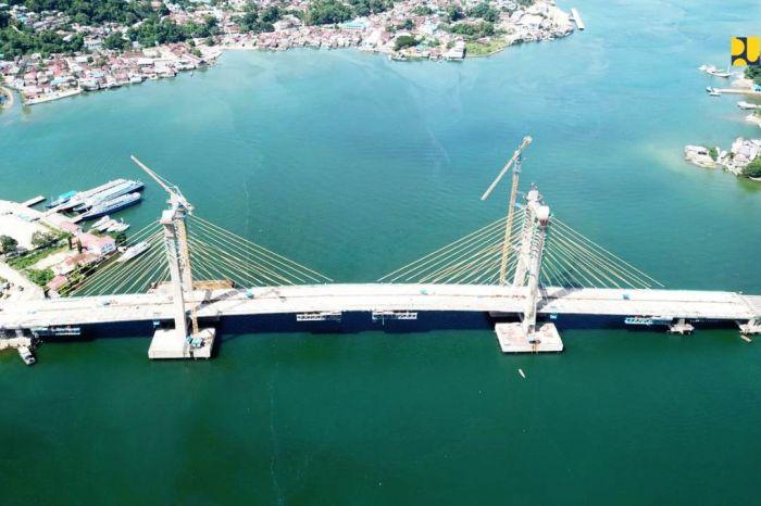 Jembatan Teluk Kendari Segera Rampung Dukung Pemulihan Ekonomi