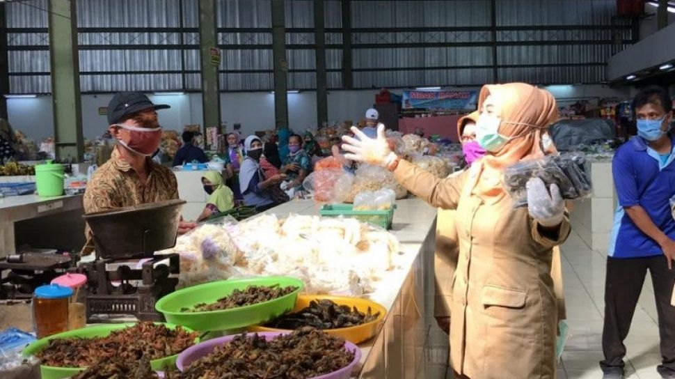 Cegah Corona, 90% Pasar di Sleman Patuh Protokol Kesehatan